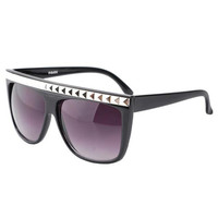 Oversized Rivet Sunglasses