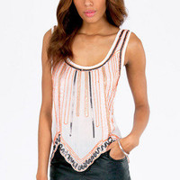 Launch Sequins Tank $44