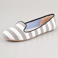 Charles Philip St. Tropez Striped Flats | SHOPBOP