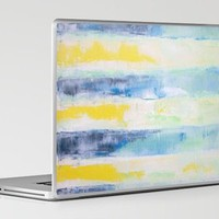 stripes whitewash Laptop & iPad Skin by Romi Vega | Society6