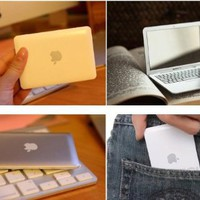 Silver Portable Apple Macbook Ai...