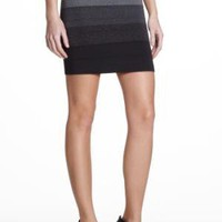 BCBGMAXAZRIA OMBRE POWER SKIRT