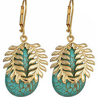 K. Amato Laurel Earrings - Max and Chloe