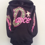 Printed Hoodie- DANCER
