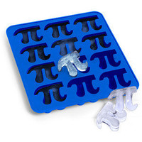 Pi Symbol Ice Cube Trays