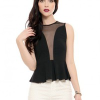 Lulu Top - Black - Tops - Clothes | GYPSY WARRIOR