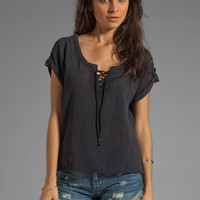 Free People Strawberry Fields Tee in Black from REVOLVEclothing.com