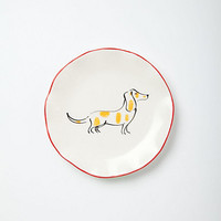 Ponza Dog Canape Plate