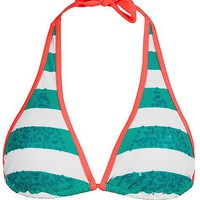 99 Degrees Stripe On Swimwear Top - Women&#x27;s Swimwear | Buckle
