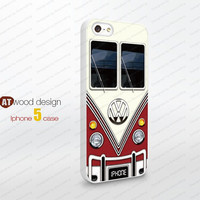 VW Minibus iphone 5 cases Hard case Rubber case iphone 4 case iphone 5 cover the best iphone case unique design