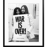 John and Yoko War Is Over by Sonic Editions at Gilt