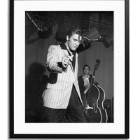 Elvis rehearsing for the Milton Berle Show by Sonic Editions at Gilt
