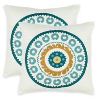 Sunder Pillow (Set of 2) by Safavieh Pillows at Gilt
