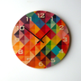 Objectify Grid2 Wall Clock - Medium Size