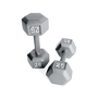 Walmart: Cap Barbell Grey Solid Hex Dumbbell