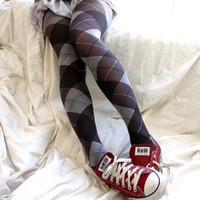 Argyle Tights