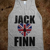 I Love Jack And Finn | Vintaged, British Tank