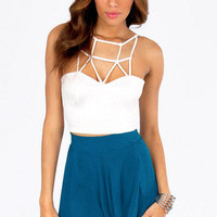 Caged In Crop Top $26