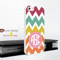 Monogram colors line geometric  Iphone 5 case unique case Hard case Rubber case iphone 4 case