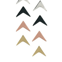 Arrow Stud Earrings Multipack