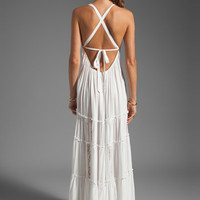 6 SHORE ROAD Twin Isles Maxi Dress in Coconut from REVOLVEclothing.com