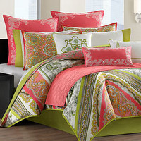 Echo Bedding, Gramercy Paisley Comforter Sets - Bedding Collections - Bed &amp; Bath - Macy&#x27;s