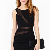 Lines Diverge Dress