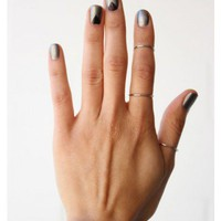 Thin RIng - Silver