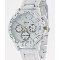 White Metal Watch
