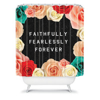 DENY Designs Home Accessories | Wesley Bird Forever Shower Curtain