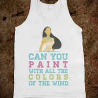 The Colors of The Wind (Tank) - hopealittle tee's - Skreened T-shirts, Organic Shirts, Hoodies, Kids Tees, Baby One-Pieces and Tote Bags