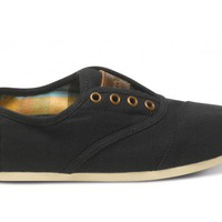 Black Canvas Women&#x27;s Cordones