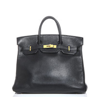Leather Hac bag | Hermes Vintage | MATCHESFASHION.COM