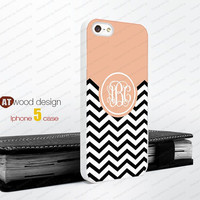 black line Monogram geometric Iphone 5 case unique case Hard case Rubber case iphone 4 case