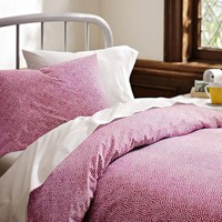 Mini Dot Bedding Bundle, Pink Magenta