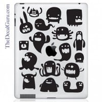 Monsters iPad Decal | iPad Vinyl Decals | iPad Decals | The Decal Guru