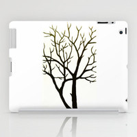 White Tree iPad Case by Morgan Ralston