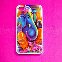iPhone 4 Case iPhone 4s case iPhone 5 Case colorful by KrezyCase