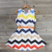 Zig Zag Falls Dress, Sweet Women's Country Clothing