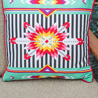 Kaleidoscope of Comfort Pillow | Mod Retro Vintage Decor Accessories | ModCloth.com