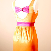 Orange You Glad We Met Dress S M L by PYTboutique on Etsy