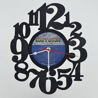 Home Decor Vinyl Record Wall Clock (artist is The Commodores)