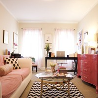 Girly Living Room / Office