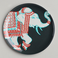 Grey Elephant Plates, Set of 2 | World Market