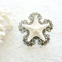 Starfish Beach Ring - Sea Treasure Collection