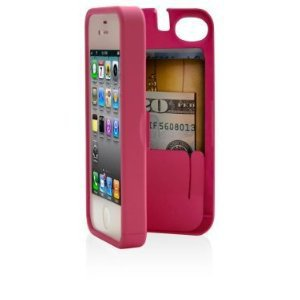 Amazon.com: Case for iPhone 4/4S with built-in storage space for credit cards/ID/money: Cell Phones & Accessories