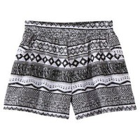 D-Signed Girls' Shorts - Black/White