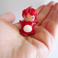 Ponyo Inspiration Charm by ThekawaiiOD on Etsy