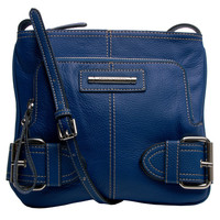 Franco Sarto 'Jolie' Leather Cross-body Bag | Overstock.com