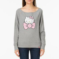 Product: Polka Dot Hello Kitty Bow Pullover